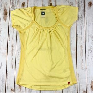 The North Face Vapor Wick Pastel Yellow Top